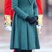 Zöld kabátban a Szent Patrik napi ünnepségen, március 17-én.