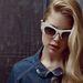 Az olasz divatház fehér kerete az egyik kedvencünk az idei napszemüveg felhozatalból