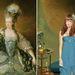 Marie Antoinette divatmániás tyúkként