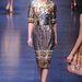 A diszkrétnek nem igazán mondható Dolce&Gabbana ruha a tervezőpáros 2013-as őszi-téli kollekciójából.