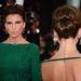 Claudia Galanti szigorú arckifejezéséhez jól passzolt a feltűzött haj.