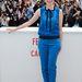 Berenice Bejo a 'Le Passe' című sajtófotózásra érkezett nadrágkosztümben a 66. Cannes-i Filmfesztiválon, május 17-én, a rendezvény harmadik napján.