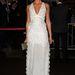 Erin Heatherton modell terítőnek öltözött Roberto Cavalli bulijára.