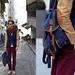 Chaby, a SmizeDivat bloggere is beépítette ruhatárába a hátizsákot.