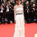 Liya Kebede Francois Ozon új filmje, a 'Jeune Et Jolie' vetítésére érkezett lélegzetelállító Alberta Ferretti ruhában.