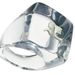 Átlátszó gyűrű a Courrèges-től 15.000 forintért
