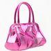 A Burberry készített hasonló táskákat, a Bershkánál 8995 forintért már lehet műanyag, átlátszó kézitáskánk.