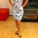 A kék és fehér most nagyon divatos, de ez a ruha picit rövidebb, mint amit szerettünk volna. (C&A - 8590 Ft)