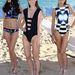 A show leglátványosabb darabjai: a melltartórészt felváltó toppos bikini mellett az egyrészes fürdőruhákkal is kísérleteztek a tervezők, a középsőben mondjuk kínosan lehet lesülni.