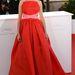 Audrey Tautou földet söprő vörös ruhában ment az Arany Pálma díjazottak fotózására. Ő volt a fesztivál idei háziasszonya.