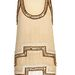 Art Deco jellegű pezsgő és arany színű ruha 17 ezer forintba kerül a River Islandnél.