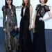A három modell mint három szomorú nővér álldigál. Név szerint ők Magda Laguinge, Tilda Lindstam és Bara Holotova.