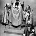 II.Erzsébet fejére 1953-ban a Canterbury érsek helyezte Szent Eduárd koronáját a londoni Westminster apátságban.