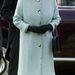 II. Erzsébet királynő egyik kedvenc fagyiszínében, talpig mentazöldben