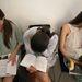 Valahogy el kellett ütni az időt két ruhapróba között. A legnépszerűbb tevékenység az olvasgatás és a tanulás volt. Ebédszünetben pedig