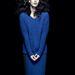 A colour blocking sem adta fel a harcot. Victoria Beckham most a kék és a fekete párosítására esküszik, az F&F tervezői pedig általában igazat adnak neki. A pulóver 5290 forint, a szoknya úgyszintén.