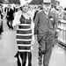 1938, Ascot: a fekete-fehér ruhák akkor is divatban voltak