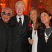 Roberto Cavalli és Bill Clinton hölgytársaságban.