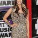 Kree Harrison énekesnő is csillogó miniben érkezett