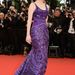 Jessica Chastain kedveli a lila színt.