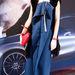 Yanina Hancharova is megjelent a Mercedes-Benz Fashion Week-en január 17-én