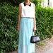 2012 júliusában már divat volt a mentaszín a berlini Mercedes-Benz Fashion Week-en
