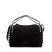 Zara: oldalt szegecses hasított-bőr táska 24995 forint helyett 19995 forint