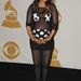 M.I.A. nem szégyellte gömbölyödő hasát a 2009-es Grammy Awardson.