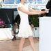 Marion Cotillard cipője visszafogott, mégis különleges, tökéletesen kiegészítő hófehér ruháját.