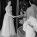 1951, május: a hercegnő egy jótékonysági táncesten teszi tiszteletét. Szokatlanul mély dekoltázsaival nagy felháborodást váltott ki.