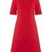 A klasszikus A-vonalú ruha 205 ezer forintba kerül a cseh stylistnál.