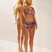 A modellhez 19 éves nők arányait és egy amerikai kutatócsoport statisztikáit vette alapul a művész.