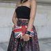 Zászlómintás Chanel-táska.