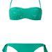 A Calzedonia pedig a nagy sikerre való tekintettel türkiz színben is kihozta Caprifoglio fantázianevű bikinijét. A flitteres felső 12 ezer forint, a hozzá illő alsó 4500.