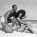 1940-es évek: szép emberek a strandon