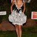 Bai Lingben meg lehet bízni, ha rossz ízlésről van szó, a Comic Con egyik kísérőrendezvényére érkezett ebben a ruhában.
