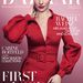 Rachel Weisz a márciusi Harper Bazaar elején.