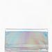 Ezüst cipőhöz fémes fényű táska dukál, Bershka, 2595 forint.