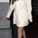 Lady Gaga ruhája színéhez passzolót választott, sikkes és kifinomult az outfit összhatása.