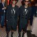A Marc By Marc Jacobs márka partiján a két DJ, Brice Abby és Regis Abby magasított talpú cipőben zenéltek.