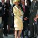 Sőt, a sárga fejfedőnek még 2013 júliusában is hasznát vette Anna, amikor elkísérte a királynőt Cumbriába.