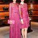 A rózsaszín egy sötétebb árnyalata a Valentino Resort bemutatón.
