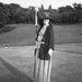"""Így golfozott Chanel 1910-ben. """"Mindenki röhögött az öltözködési stílusomon, de ebben rejlett a sikerem titka. Más voltam"""" - mondta."""