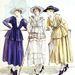 Gabrielle Chanel rajta az 1917 márciusi Les elegances parisiennes című lapban.