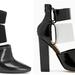 Még mindig Nasty Gal: Alexander Wang Mackenzie névre keresztlet cipőjét is magukévá tették, jobbra a Nasty Gal verzió, balra Wang cipője.