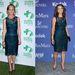 Helen Huntnak és Amy Brennemannak ugyanaz a sötét petrolkék, csipkés ruha tetszett meg.
