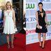 Amy Ryan és Lucy Liu ruhája ugyanolyan, egy dolog mégis eltér: más a színük.