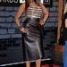 A felül tyúklábmintás bőrruhát a Christian Dior szállította.