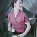 Rózsaszín rövid ujjú felső 1951-ből.