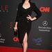 A Mad Men színésznője, Jessica Paré díjat adott át.
